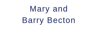 Mary and Barry Becton